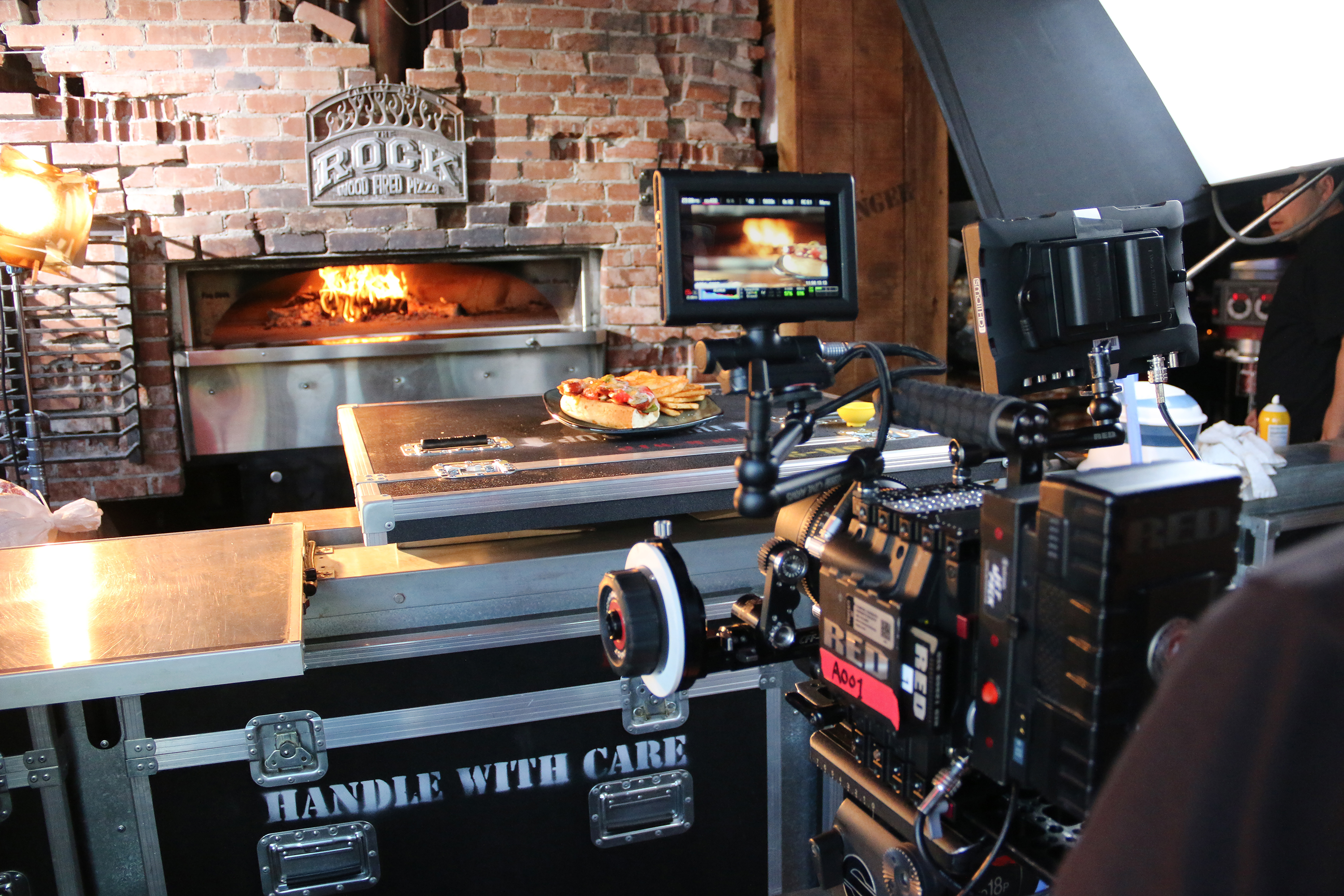 Image Production Shooting & Styling Food At The Rock Wood